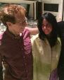 David Campbell with Jacqui Hylton