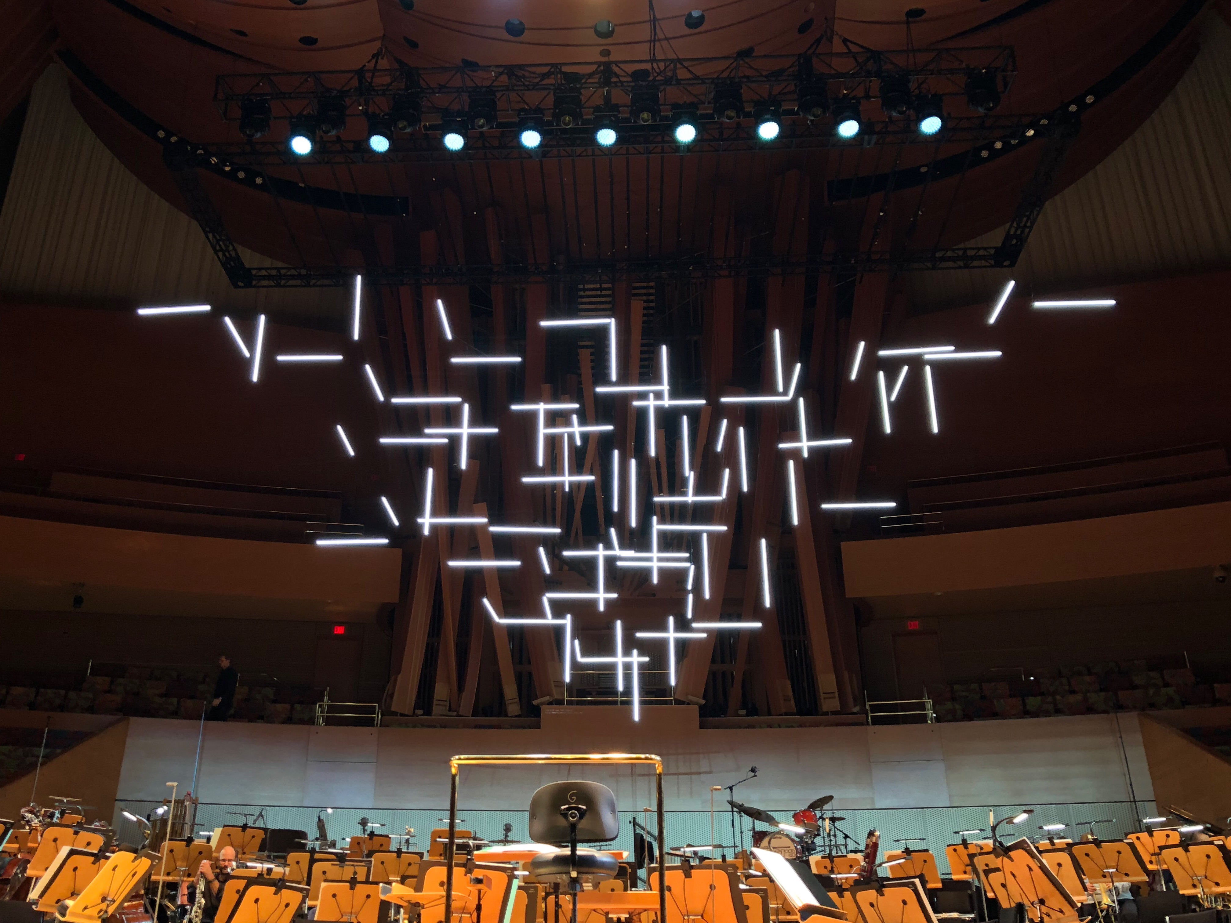 LA Phil 100th anniversary preparations