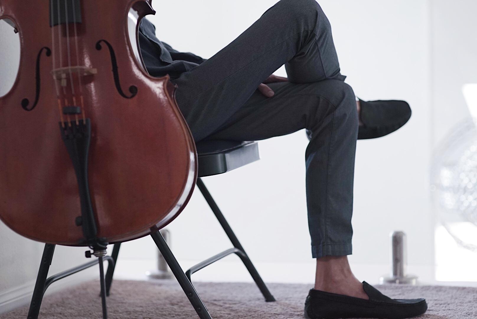 David with Cello
