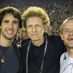 David Campbell, Josh Groban, and Flea
