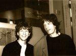 David Campbell and Mick Jagger