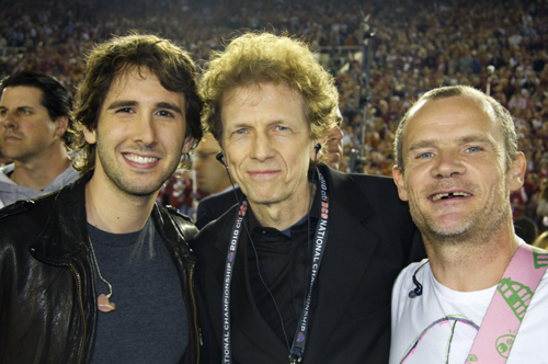 David Campbell, Josh Groban, and Flea