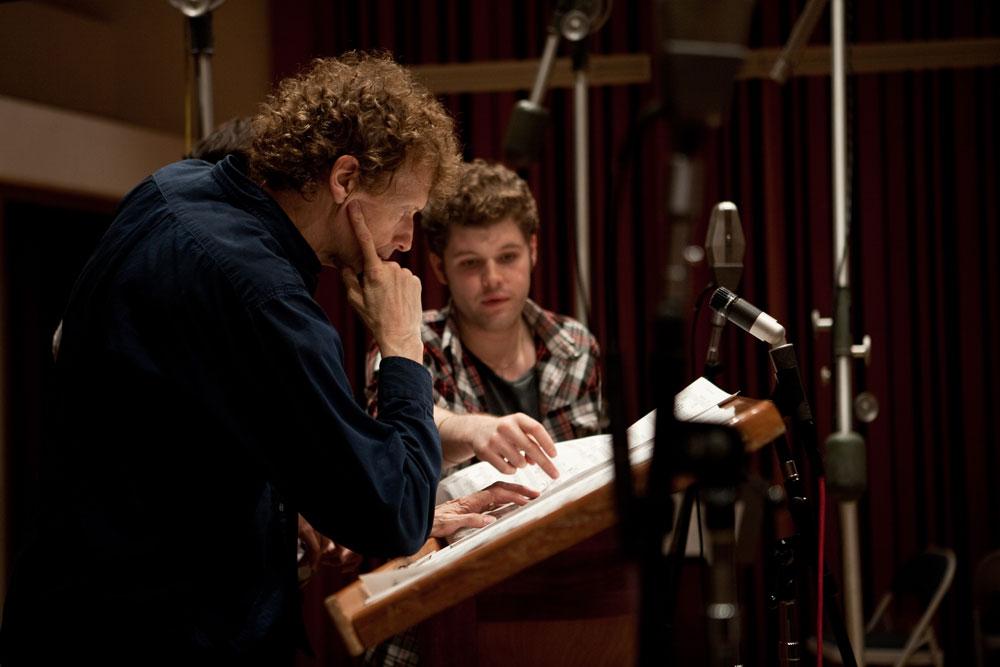 David Campbell recording Daniel Merriweather