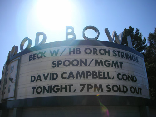David Campbell marquee