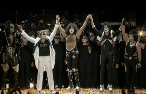 David Campbell and KISS