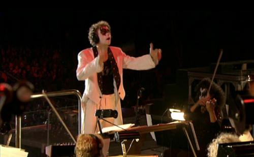 David Campbell conducting KISS