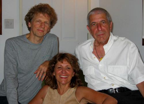 David Campbell and Leonard Cohen