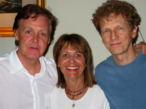 David Campbell, Paul McCartney and Raven Kane